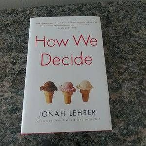 Other - How We Decide Hardcover Book